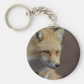 Cute Red Fox Keychain