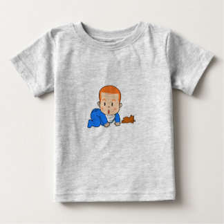 Cute red-haired baby baby T-Shirt