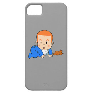 Cute red-haired baby iPhone SE/5/5s case