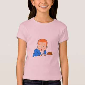 Cute red-haired baby T-Shirt