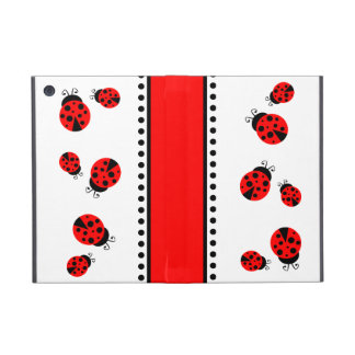 Cute Red Ladybugs iPad Mini Case