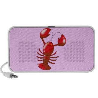 Cute red lobster speaker