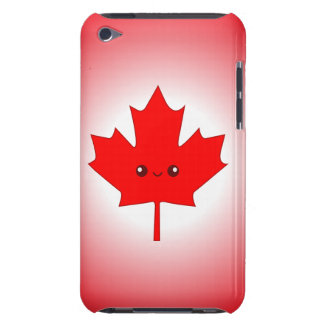 Cute Red Maple Leaf iPod Case Barely There iPod Cases