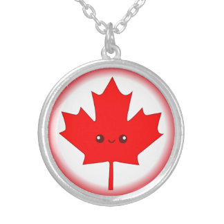 Cute Red Maple Leaf Necklace