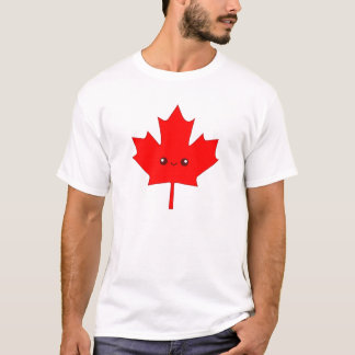 Cute Red Maple Leaf T-shirt