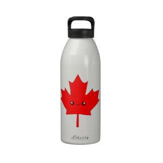 Cute Red Maple Leaf Water Bottles