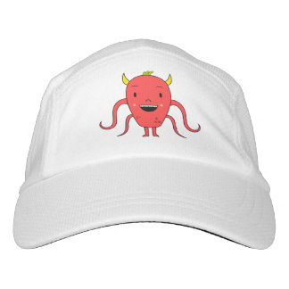 Cute red monster headsweats hat