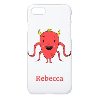 Cute red monster iPhone 8/7 case