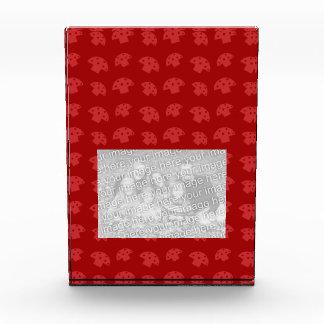 Cute red mushroom pattern award