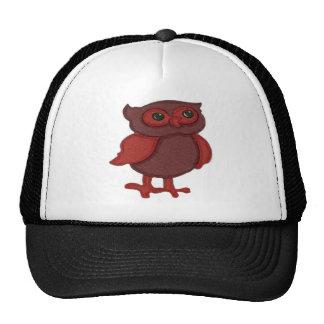 Cute Red Owl Trucker Hat