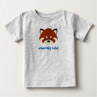 Cute Red Panda Baby T-Shirt
