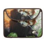 """Cute Red Panda Bear 13"""" MacBook Sleeve MacBook Pro Sleeve"""