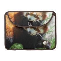 """Cute Red Panda Bear 13"""" MacBook Sleeve"""