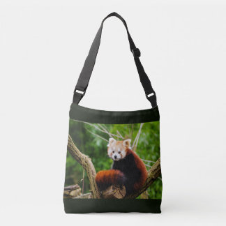 Cute Red Panda Bear Crossbody Bag
