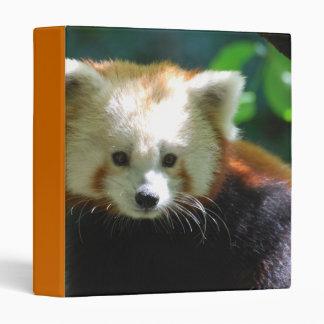 Cute Red Panda Binder