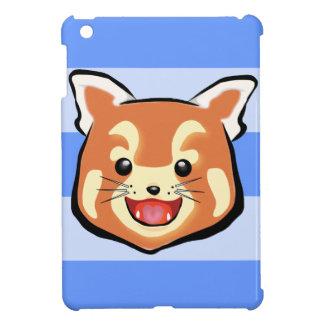 Cute Red Panda  (Blue Stripes) Case For The iPad Mini