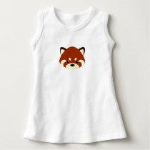 Cute Red Panda Dress