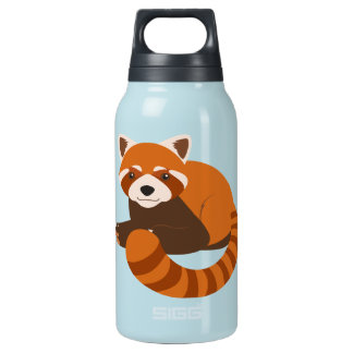 Cute Red Panda Insulated Water Bottle