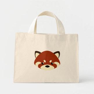Cute Red Panda Mini Tote Bag