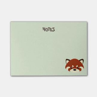 Cute Red Panda Post-it Notes