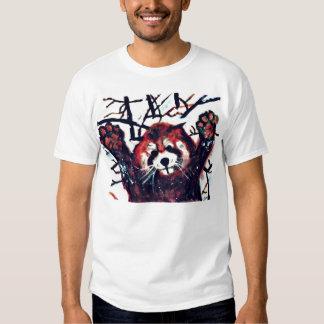 Cute Red Panda Snow Day T Shirt