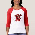 Cute red pixel art puppy dog T-Shirt