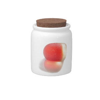 Cute red sea glass from Seaham Candy Jars