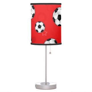 Cute Red Soccer Ball Lamp