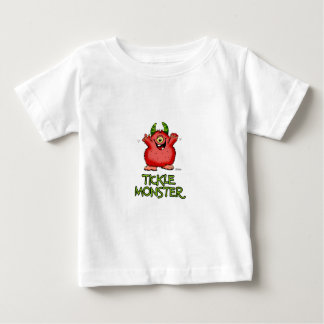 Cute red tickle Monster by send2smiles Infant T-shirt
