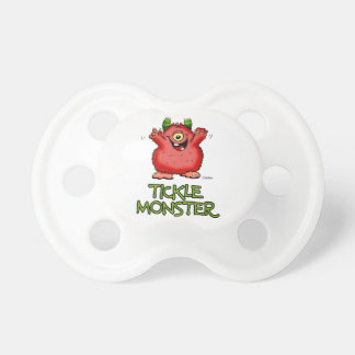 Cute red tickle Monster by send2smiles Pacifier