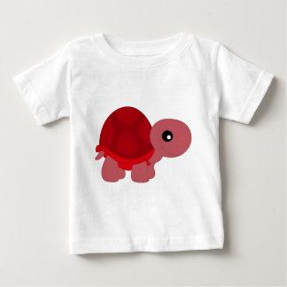 Cute Red Tortoise Baby T-Shirt