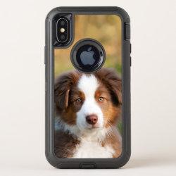 OtterBox Apple iPhone X Symmetry Case with Australian Shepherd Phone Cases design
