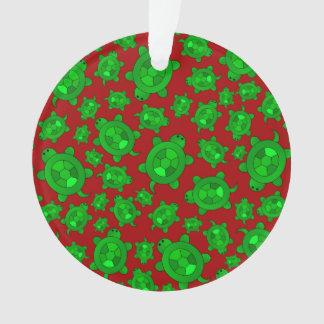 Cute red turtle pattern