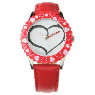 Cute Red Watch
