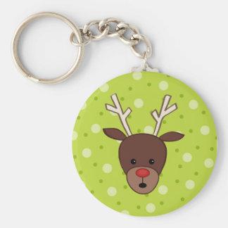 Cute Reindeer Keychain