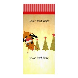 Cute Reindeer Rack Card