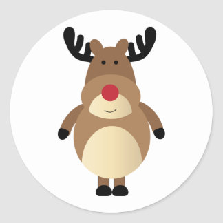 Cute Reindeer Sticker