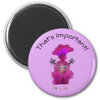 Cute Remembering Magnet - Lila