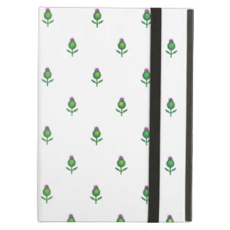 Cute Repeating Thistle Pattern Case For iPad Air