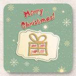 Cute Retro Christmas Coasters