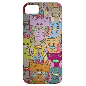 Cute Retro Colorful Animals Company iPhone 5 iPhone 5 Cases