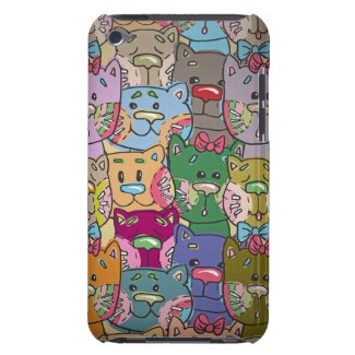 Cute Retro Colorful Animals Company iPod Touch iPod Touch Covers