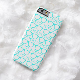 Cute Retro Eyeglass Hipster Barely There iPhone 6 Case