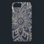 "Cute Retro Gold abstract Flower Drawing on Black iPhone 8/7 Case<br><div class=""desc"">a cute and retro gold flower vector drawing with paisley pattern,  stripes and abstract chevron pattern on a black background. Perfect for the nature lover with an artistic touch</div>"