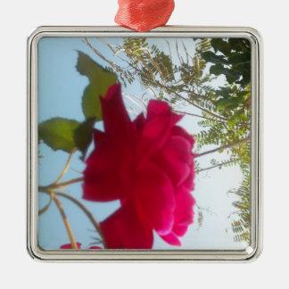 Cute Retro Hakuna Matata Gift Blue Red  Green SKY  Ornament