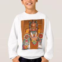 Cute Retro Halloween Bash Hakuna Matata Party Gift Sweatshirt