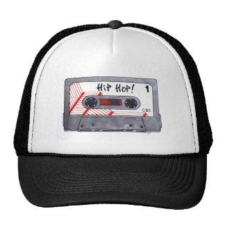 Cute retro hip hop mixtape hats