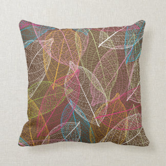 Cute retro leafs nature pattern pillow case