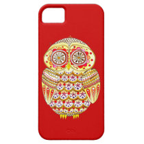 Cute Retro Owl iPhone 5 Case