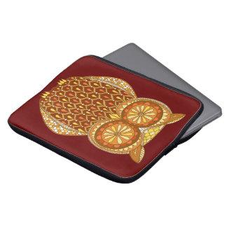 Cute Retro Owl Laptop Sleeve Laptop Sleeve